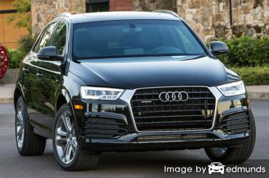 Insurance rates Audi Q3 in Fort Wayne