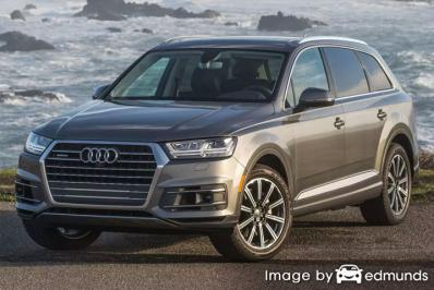 Insurance quote for Audi Q7 in Fort Wayne