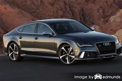 Insurance quote for Audi RS7 in Fort Wayne