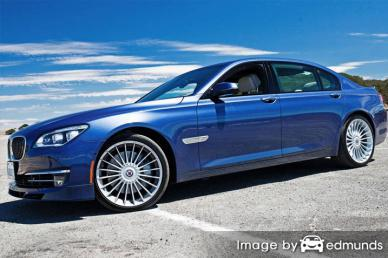 Insurance rates BMW Alpina B7 in Fort Wayne