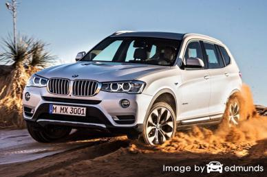 Insurance quote for BMW X3 in Fort Wayne