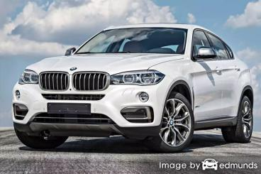 Insurance quote for BMW X6 in Fort Wayne