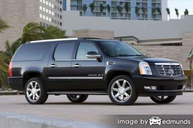Insurance rates Cadillac Escalade ESV in Fort Wayne