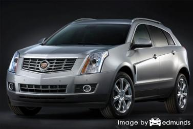Insurance rates Cadillac SRX in Fort Wayne