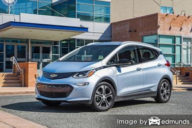 Insurance quote for Chevy Bolt in Fort Wayne