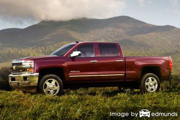 Insurance rates Chevy Silverado 2500HD in Fort Wayne