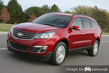 Insurance rates Chevy Traverse in Fort Wayne