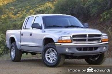 Insurance quote for Dodge Dakota in Fort Wayne