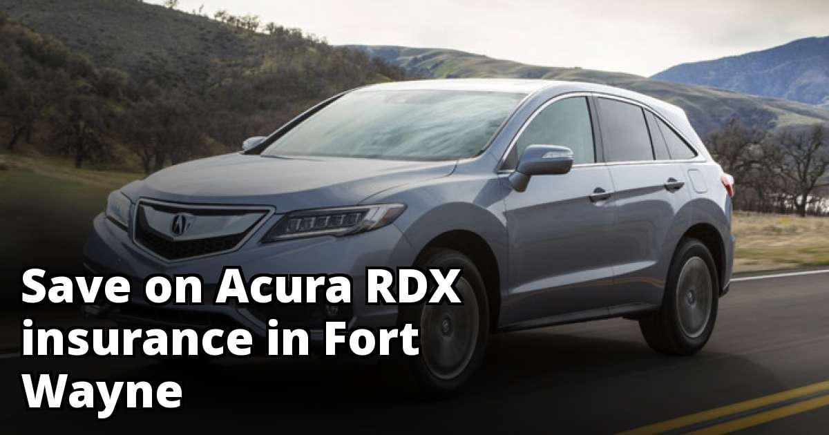 Affordable Insurance For An Acura RDX In Fort Wayne - Acura insurance