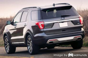 Insurance rates Ford Explorer in Fort Wayne