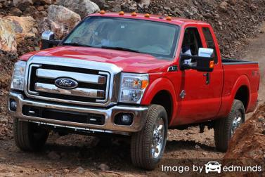 Insurance rates Ford F-250 in Fort Wayne