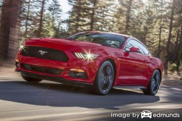 Insurance rates Ford Mustang in Fort Wayne