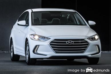 Insurance quote for Hyundai Elantra in Fort Wayne