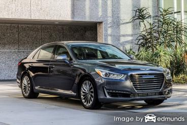 Insurance rates Hyundai G90 in Fort Wayne