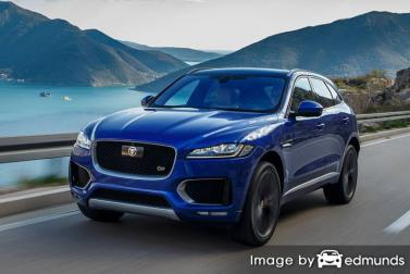 Discount Jaguar F-PACE insurance