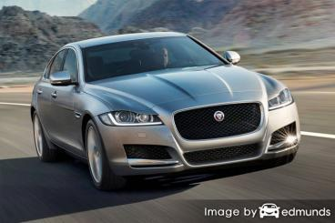 Insurance quote for Jaguar XF in Fort Wayne