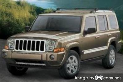 Insurance quote for Jeep Commander in Fort Wayne