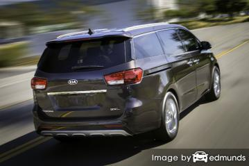 Insurance rates Kia Sedona in Fort Wayne