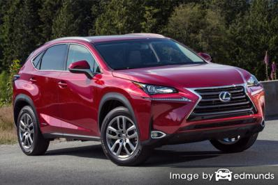 Insurance quote for Lexus NX 300h in Fort Wayne