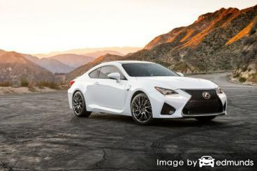 Insurance quote for Lexus RC F in Fort Wayne