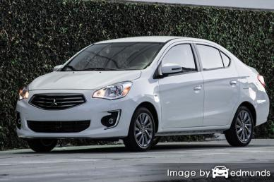 Discount Mitsubishi Mirage G4 insurance