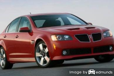 Insurance rates Pontiac G8 in Fort Wayne