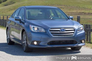 Insurance quote for Subaru Legacy in Fort Wayne