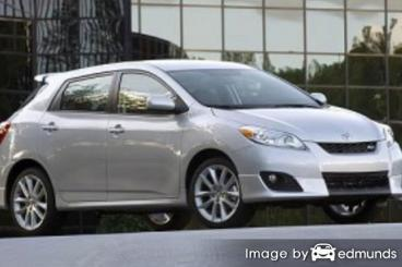 Insurance quote for Toyota Matrix in Fort Wayne