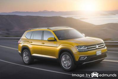 Insurance rates Volkswagen Atlas in Fort Wayne